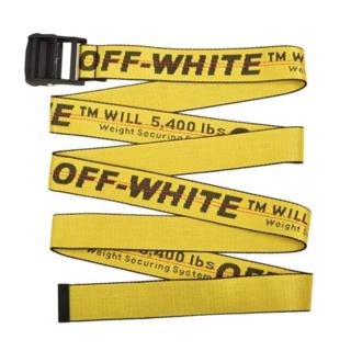 オフホワイト(OFF-WHITE)のoff-white インダストリアルベルト ☆早勝ち(ベルト)