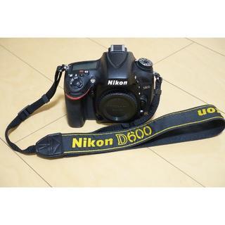 Nikon - Nikon ニコン 一眼レフ D600 本体