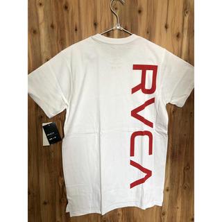 ルーカ(RVCA)のLサイズ RVCA ルーカ new world ロゴTシャツ バックロゴ (Tシャツ/カットソー(半袖/袖なし))