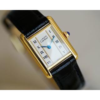 Cartier - 美品 カルティエ マスト タンク ゴールドライン SM Cartier