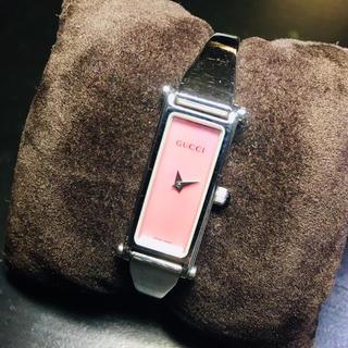 グッチ(Gucci)の【良品 確実正規品】グッチ 腕時計 1500 ピンクシェル 時計 GUCCI(腕時計)