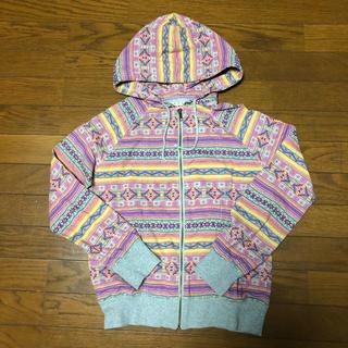 titicaca - チチカカ ネイティブ柄 パーカー 美品