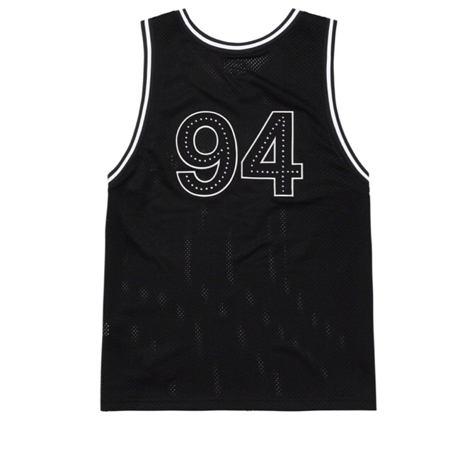 Supreme(シュプリーム)のSupreme Rhinestone Basket ball Jersey  S メンズのトップス(タンクトップ)の商品写真