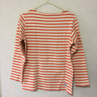 c9675158546932 オーシバル(ORCIVAL)のORCIVAL ボーダー オレンジ バスクシャツ(カットソー(長袖/七