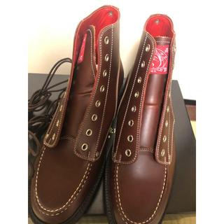 エビス(EVISU)のウルトラセブン様専用 山根靴店 EVISU  Uチップブーツ(ブーツ)