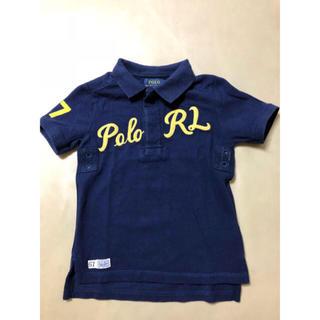 ポロラルフローレン(POLO RALPH LAUREN)のラルフローレン ネイビーポロシャツ 110 4歳(Tシャツ/カットソー)