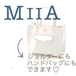 ミーア(MIIA)のMIIA スクエアミニバッグ ショルダー/ハンド(ショルダーバッグ)