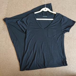 しまむら - 【美品】しまむら ポケット付きTシャツワンピ