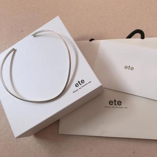 ete -  エテシルバーチョーカー