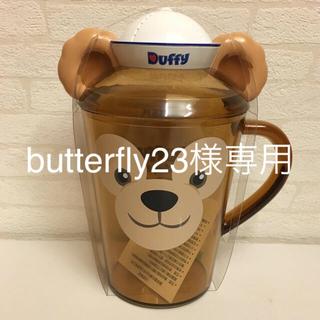 ダッフィー - 香港ディズニーダッフィー蓋付きカップ