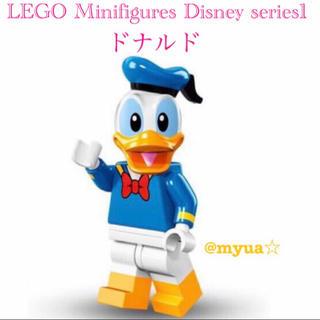 レゴ(Lego)のラスト1点☆LEGO ディズニー ミニフィグ シリーズ1 ドナルド 新品 正規品(知育玩具)