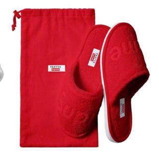 シュプリーム(Supreme)のsupreme frette slippers(スリッパ/ルームシューズ)