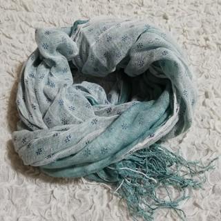 ネストローブ(nest Robe)のダブルガーゼ ストール [未使用](ストール/パシュミナ)