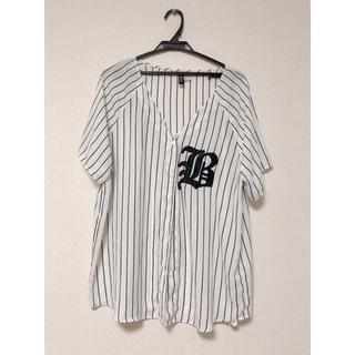 エイチアンドエム(H&M)のH&M ベースボールシャツ(シャツ/ブラウス(半袖/袖なし))