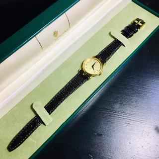 グッチ(Gucci)の【美品 可動 確実正規品】グッチ 腕時計 レディース 時計 GUCCI ゴールド(腕時計)