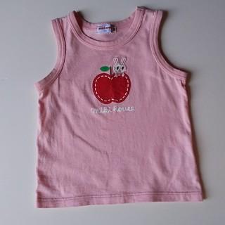 ミキハウス(mikihouse)のミキハウス タンクトップ Tシャツ  90 ピンク(Tシャツ/カットソー)