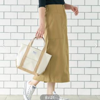 IENA - 新品 le.coeur blanc フロントジップハイウエストタイトスカート
