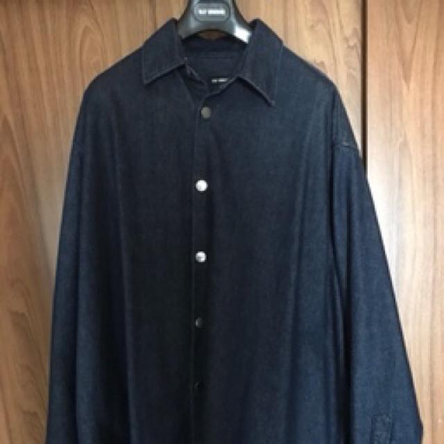 RAF SIMONS(ラフシモンズ)のオーバーサイズデニムジャケット メンズのジャケット/アウター(Gジャン/デニムジャケット)の商品写真