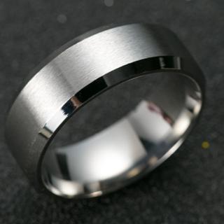 チタンブラックリング (シルバー)(リング(指輪))