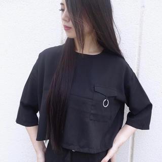 スタイルナンダ(STYLENANDA)のデザインリングトップス(Tシャツ(半袖/袖なし))