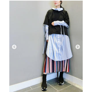 ENFOLD - 新品  ENFOLD 18SS コレクションライン ストライプシャツ