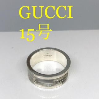 Gucci - [美品]GUCCI 指輪 リング 15号