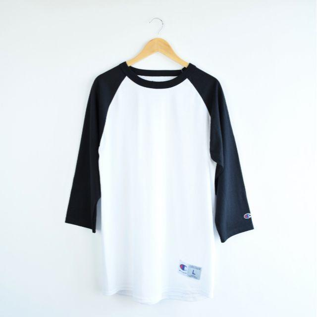DEUXIEME CLASSE(ドゥーズィエムクラス)の新品 今年購入 Champion ベースボール ラグラン BIG Tシャツ レディースのトップス(Tシャツ(長袖/七分))の商品写真