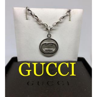 グッチ(Gucci)の[美品]GUCCI インターロッキング ネックレス 箱付き(ネックレス)