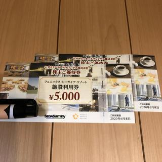 セガサミー 株主優待券1万分 ラクマパック発送
