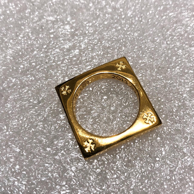 Chrome Hearts(クロムハーツ)のクロムハーツ スクエアサークルリング 14号 メンズのアクセサリー(リング(指輪))の商品写真