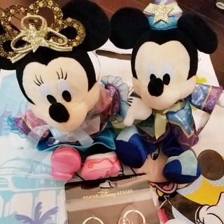 Disney - 東京ディズニーランド 七夕限定品 ミッキー&ミニーマウスセット おまけ付き