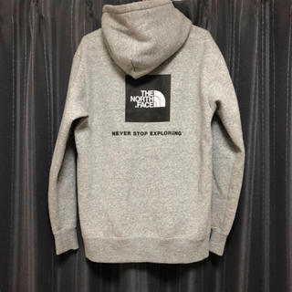 THE NORTH FACE - THE NORTH FACE 美品 ボックスロゴ パーカー