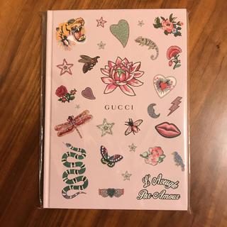 グッチ(Gucci)のGUCCI ノート  未使用(ノート/メモ帳/ふせん)