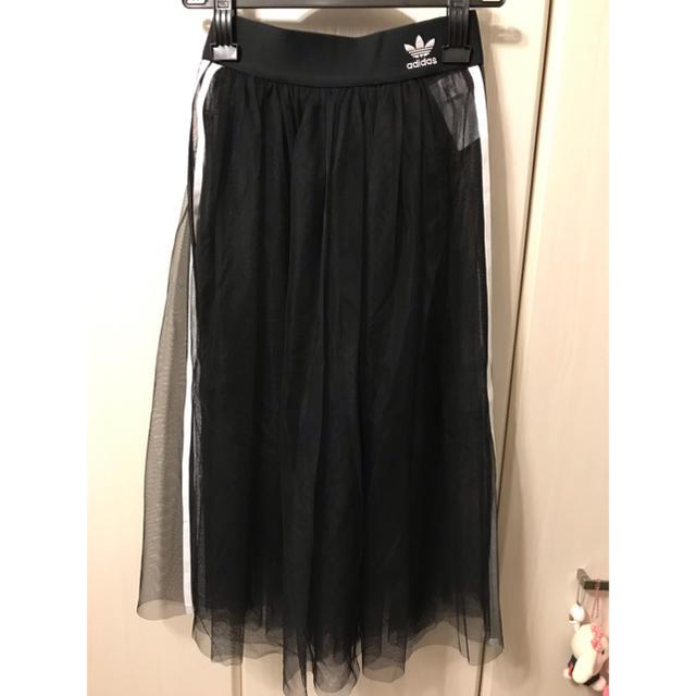 adidas(アディダス)のadidas TULLE SKIRT(新品) レディースのスカート(ロングスカート)の商品写真