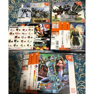 バンダイ(BANDAI)のDC  ガンダムシリーズゲームセット(家庭用ゲームソフト)