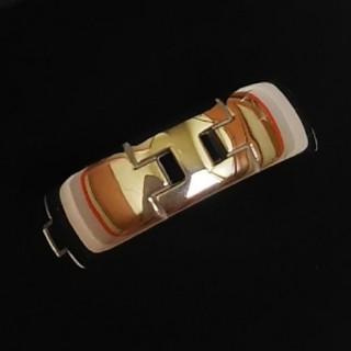エルメス(Hermes)のエルメス HERMES ヘラクレス リング 指輪 k18 750 WG 金 美品(リング(指輪))