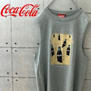 コカコーラ(コカ・コーラ)の【アメリカ製】レア! 90s コカコーラ タンクトップ(タンクトップ)