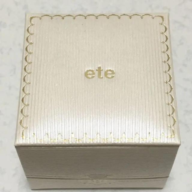 ete(エテ)のエテ ピンキーリング レディースのアクセサリー(リング(指輪))の商品写真