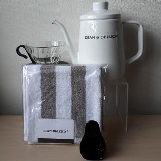 ディーンアンドデルーカ(DEAN & DELUCA)のDEAN & DELUCA ホーローケトルとコーヒーセット(コーヒーメーカー)