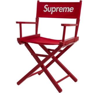 シュプリーム(Supreme)の!早い者勝ち!Supremeレッド 椅子(折り畳みイス)