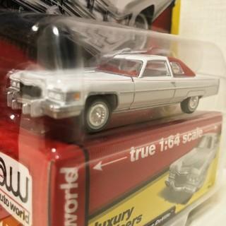 キャデラック(Cadillac)のAutoworldオートワールド/'76 Cadillacキャデラック 1/64(ミニカー)