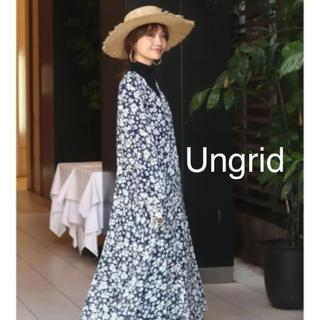 アングリッド(Ungrid)のUngrid シアーフラワーワンピース(ロングワンピース/マキシワンピース)