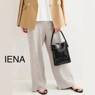 IENA - タグ付き新品⭐️19SS/IENA/イエナ/粗挽き杢ワッフルパンツ  ナチュラル