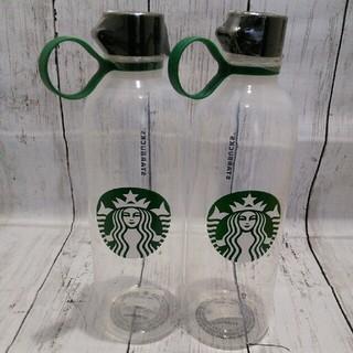 Starbucks Coffee - スターバックス リユーザブル ウォーターボトル 2本セット クリア