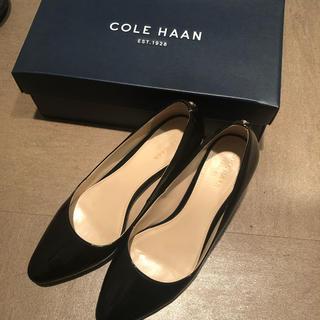 Cole Haan - コールハーン   パンプス  黒 太ヒール チャンキーヒール