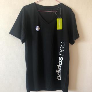 アディダス(adidas)の【新品未使用】アディダス  Tシャツ LL(Tシャツ/カットソー(半袖/袖なし))