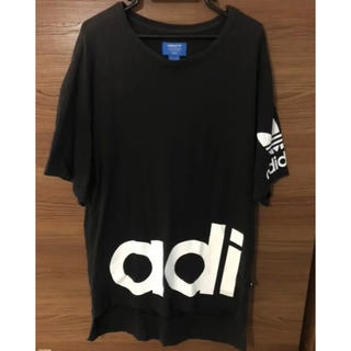 adidas - adidas originals ビッグシルエット オーバーサイズTシャツ