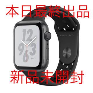 アップル(Apple)のApple Watch Nike+ Series 4 MU6L2J/A(腕時計(デジタル))