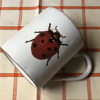 アッシュペーフランス(H.P.FRANCE)のアスティエ JOHN DERIAN ジョンデリアン 🐞てんとう虫マグカップ(食器)