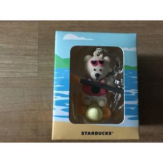Starbucks Coffee - スタバ ベアリスタ キーホルダー 海外